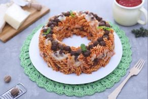 Ciambella di pasta pasticciata