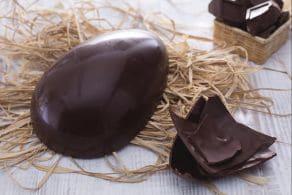 Ricetta Uovo di Pasqua al cioccolato fondente