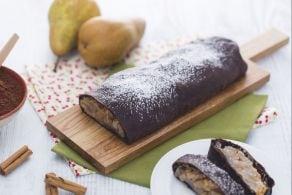Ricetta Strudel al cacao con pere e cannella