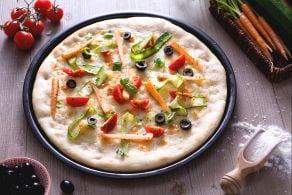 Ricetta Pizza crudaiola