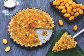 Ricetta Crostata con kumquat caramellati