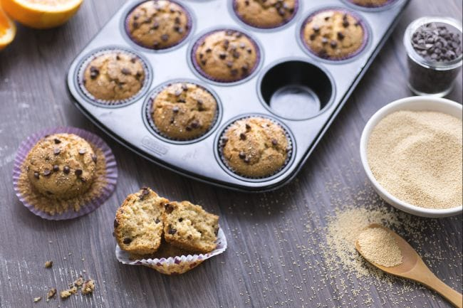 Muffin all'amaranto