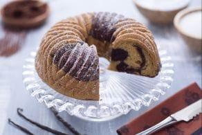 Ciambella marmorizzata senza glutine