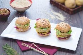 Ricetta Mini burger di quinoa