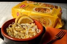 Cocotte di tagliatelle al limone