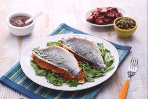 Ricetta Sandwich di orata alla siciliana
