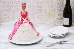Ricetta Torta Barbie