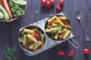 Ricetta Padellata di tortiglioni con verdure all'aneto