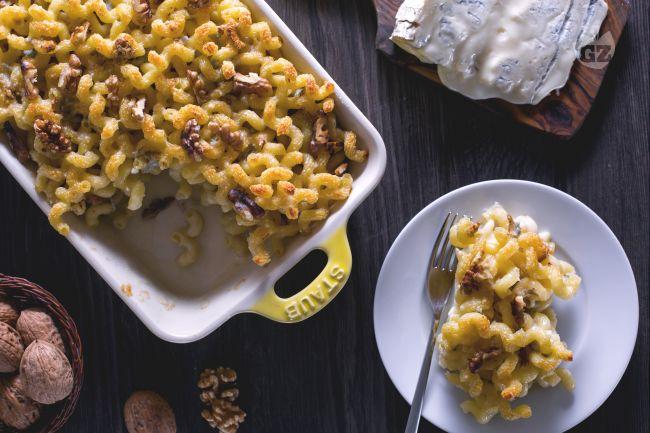 Ricetta cavolfiore con la pasta al forno