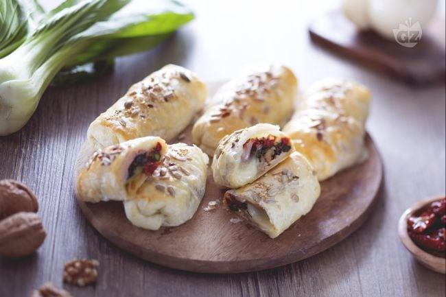 Rotolini salati con cuore morbido