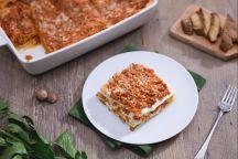 Lasagne al ragù di seitan