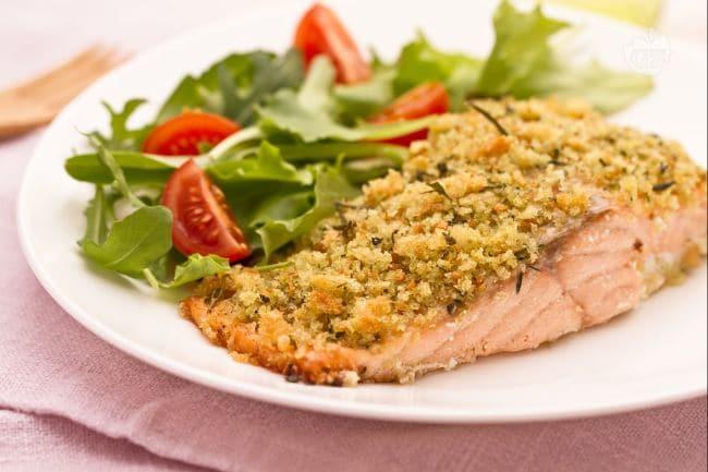 ricetta salmone croccante la ricetta di giallozafferano