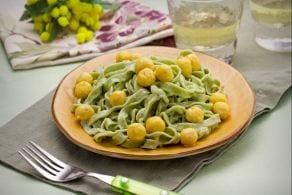 Ricetta Tagliatelle mimosa