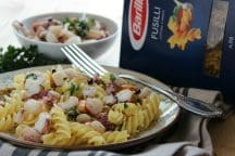 Fusilli freddi con insalata di mare