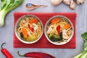 Ricetta Vermicelli in zuppa orientale