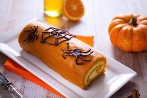 Ricetta Rotolo dolce di Halloween