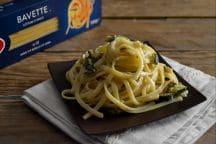 Bavette con zucchine e gorgonzola
