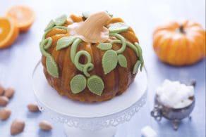 Ricetta Torta zucca di Halloween