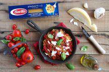 Spaghetti al triplo pomodoro e caciocavallo