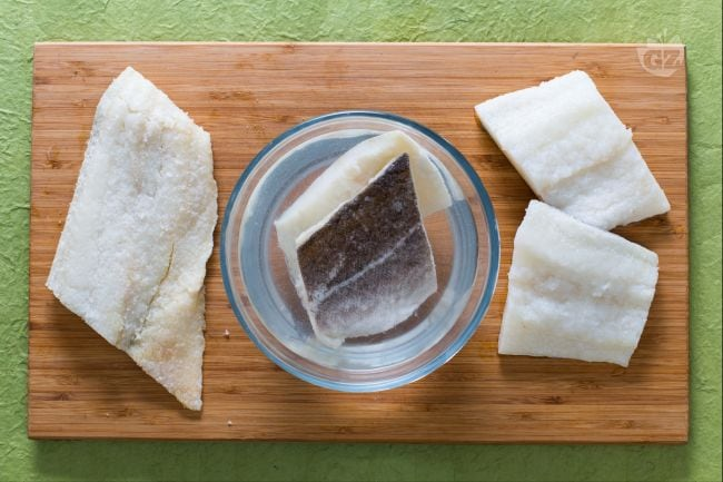 dissalare il baccalà - Come Si Cucina Il Baccala