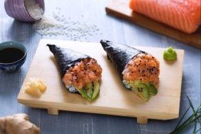 Ricetta Temaki di salmone