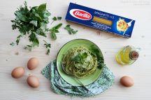 Spaghetti cremosi alle erbe aromatiche