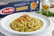 Spaghettini Gamberi e Curry