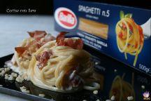 Spaghetti mascarpone e speck