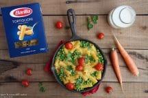 Tortiglioni cheese veg