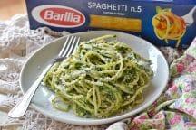Spaghetti spinaci e ricotta