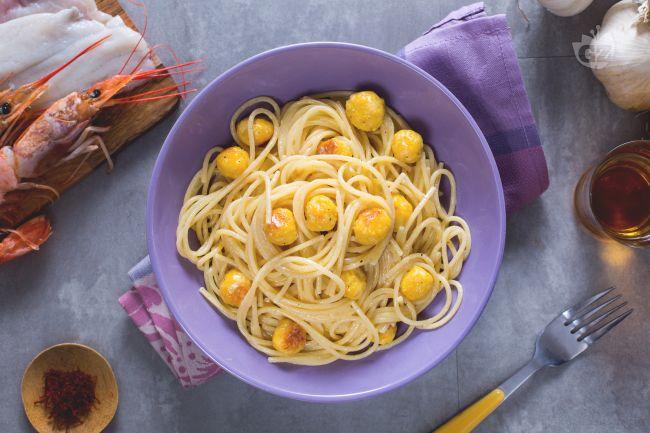 Pasta con le polpettine di pesce