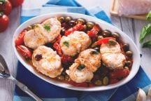 Coda di rospo con olive
