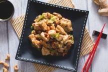 Pollo con anacardi