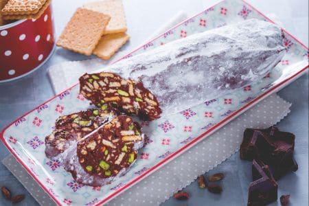 Ricetta Salame Di Cioccolato Senza Uova La Ricetta Di Giallozafferano