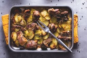 Ricetta Capretto al forno con patate