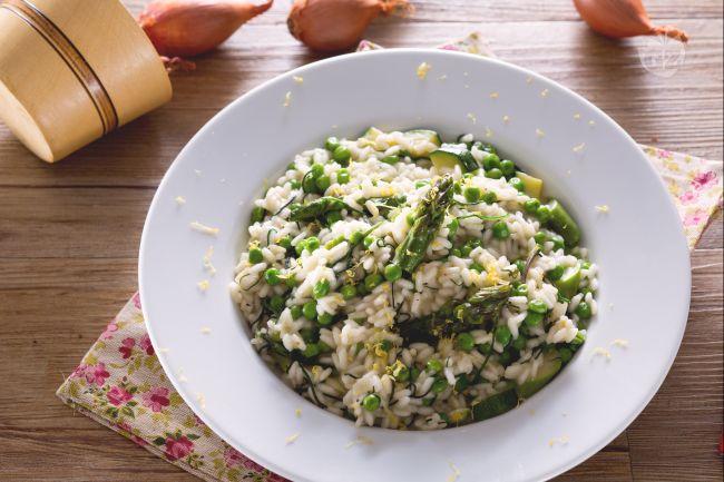 Ricetta risotto primavera la ricetta di giallozafferano for Ricette risotti veloci