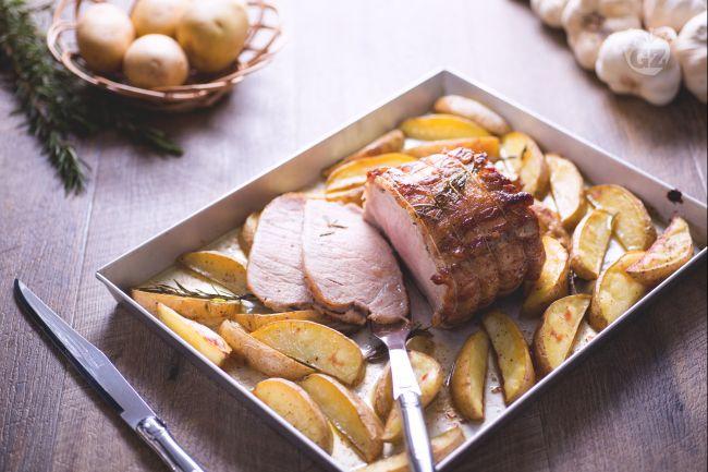 Ricetta arista di maiale arrosto la ricetta di for Arrosto maiale