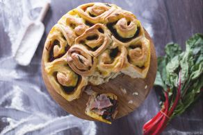 Ricetta Torta salata di rose