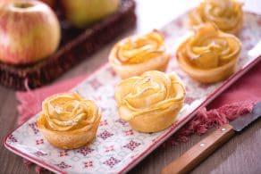 Ricetta Roselline di sfoglia e mele