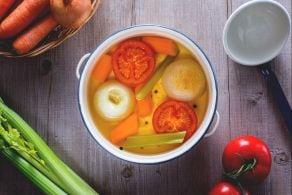 Ricetta Brodo vegetale