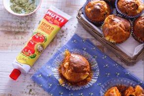 Ricetta Muffin rossi