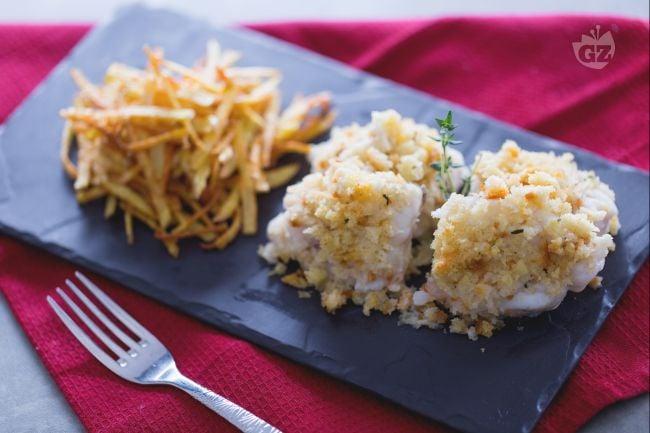 Coda di rospo con patate