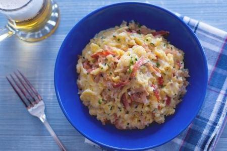 Ricetta spatzle panna e speck la ricetta di giallozafferano - Panna da cucina ricette ...