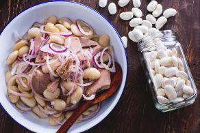 Ricetta Tonno fagioli e cipolla