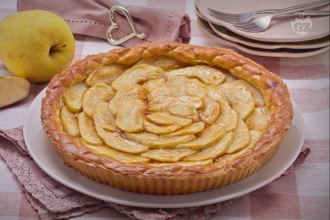 ricetta crostata di mele la ricetta di giallozafferano