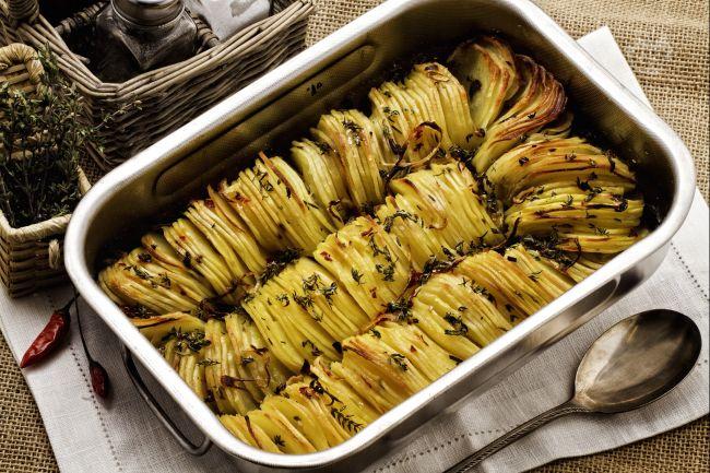 Teglia di patate croccanti