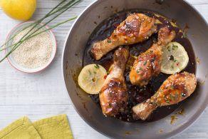 Ricetta Fusi di pollo al miele
