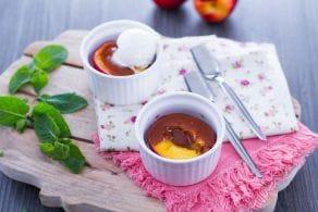 Ricetta Pesche caramellate
