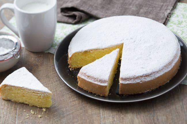 Ricetta torta margherita per 3 persone