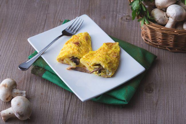 Omelette regina
